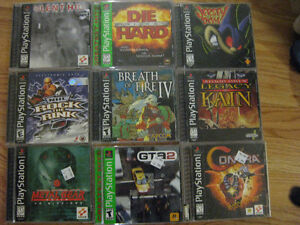 Playstation Games (PS1) Cambridge Kitchener Area image 1