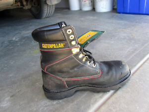Caterpillar steel toed thinsulate work boots