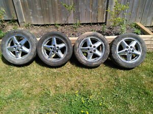 4 Pontiac Grand AM chrome rims London Ontario image 1