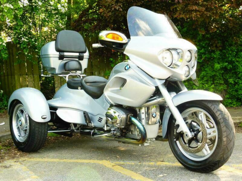 04 04 bmw grinnall r 1200 cl trike with reverse gear extra. Black Bedroom Furniture Sets. Home Design Ideas