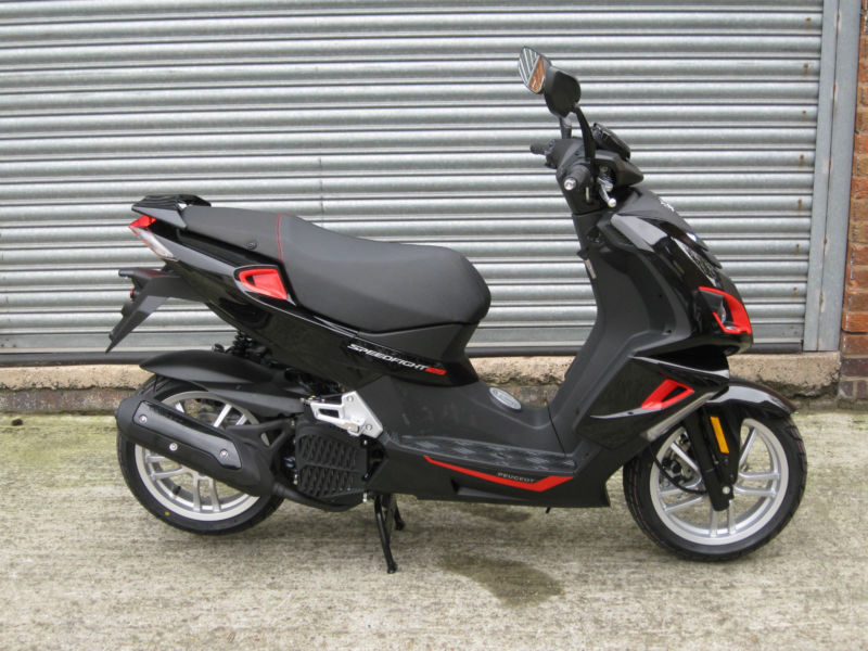 peugeot speedfight 4 125cc lc brand new in leicester. Black Bedroom Furniture Sets. Home Design Ideas