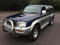 2002 Mitsubishi L200 4x4 COMPLETE WITH M.O.T AND WARRANTY