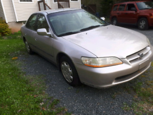 Honda accord 1999 parts/repair