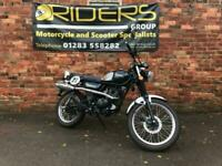 SINNIS Scrambler 125 2018 - Black - Only 700 Miles
