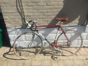 Vintage Colnago bicycle 1983, Columbus SL tubing..