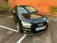 Audi A1 1.4 ( 185ps ) S Tronic 2012 Black Edition, ZeroDeposit, Low Rate Finance for sale  Manchester City Centre, Manchester
