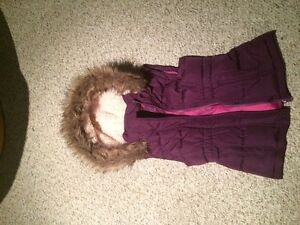 Girls Puffy Vest with Hood (Size 14)