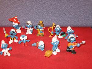 ot of 11 older Peyo W. Germany Schleich Figurines