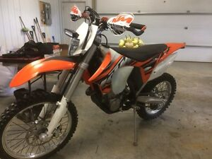 2013 450 ktm xcw and 2013 timbersled LT