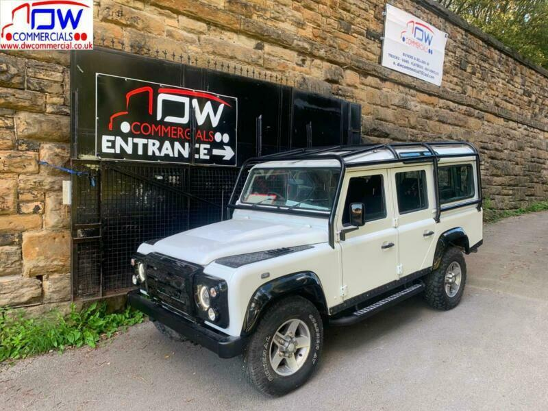 2013/13 Land Rover 110 Defender 2.2D County 7 Seater Station Wagon 52K