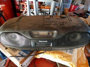 Panasonic portable stereo