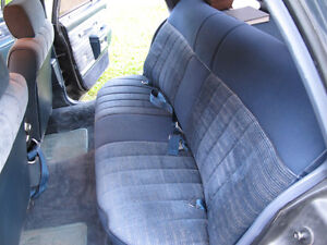 Chevy Caprice Impala 80-90 Dark blue rear seats, FLAWLESS shape