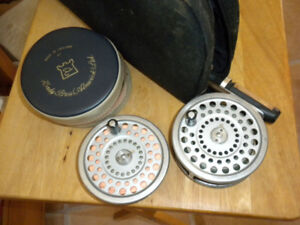 Hardy fishing reel and spare spool Marquis  salmon no# 1