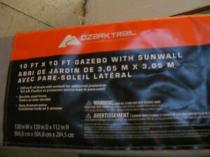 new never used:pop up canopy 10 x 10    100.00