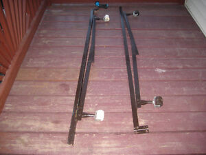 single/double metal box spring support