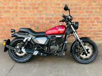 Keeway K Light 125cc LTD learner legal own this bike for only £11.55 a week