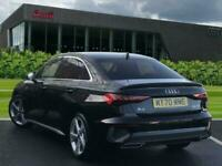2020 Audi A3 Saloon S line 30 TDI 116 PS 6-speed Saloon Diesel Manual