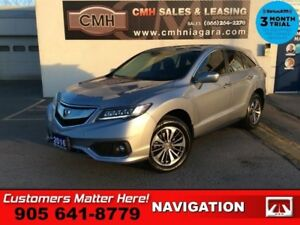 2016 Acura RDX Elite  COOLED-SEATS PARK-SENS NAV ROOF BS RAIN-SE