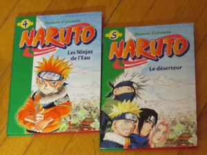 DUO   NARUTO   2  ROMANS inspiration de Manga /jeunesse