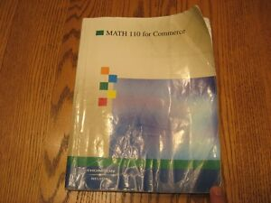 Math For Commerce 110 – University Text Book