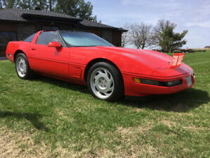 Corvette C4 1990 targa top reduce 9500.00$