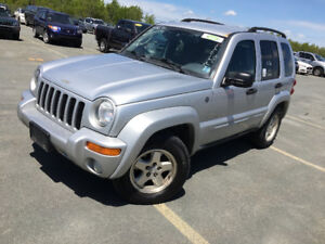 2004 Jeep  Liberty 4 x 4 170.000kms 2995$@902-293-6969