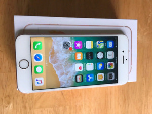 In the box iPhone 6S UNLOCKED with a metal case