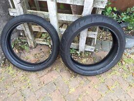 Pirelli Diablo Tyres (150/60R17 & 120/60R17)