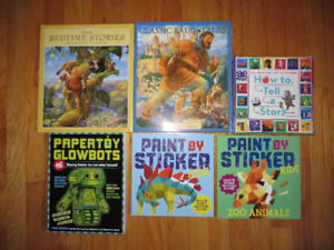 Brand New Books and Activities- Never Used- NEW PRICE!!