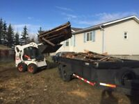 bobcat Services / landscaping / excavation