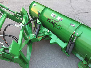 2012 John Deere 4320 chargeur + lame hydraulique *192 heures West Island Greater Montréal image 3