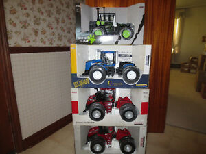 CASE IH STEIGER NEW HOLLAND 4WD TOY FARM TRACTORS Sarnia Sarnia Area image 1