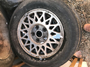 Mazda 626 Rims and tires set of 4