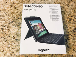 "New Logitech Slim Combo iPad Pro 10..5"" Keyboard Case $125"