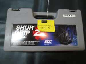 Shur Grip by SCC Tire Chains For Sale At Nearly New Port Hope