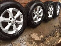 WANTED Set of 4 Navara Wheels