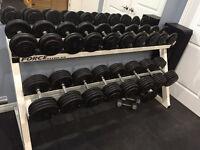 70 LB to 95 LB Dumbells sets