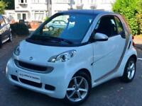 2011 White Smart ForTwo 1.0 MHD Pulse SoftTouch 2 Door Petrol Auto