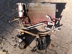 1990 Mazda Miata air conditioner compressor, condenser, plumbing