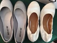 Ladies flats size 6