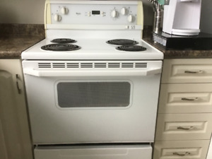 Whirlpool range for sale.  Perfect working condition.