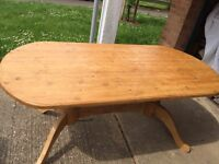 Pine Solid Table £35 Quick Sale