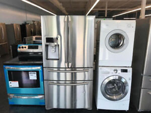 STAINLESS STEEL APPLIANCES ON SALE!! FROM $399!! 1 YEAR WARRANTY