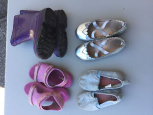Girl toddler shoes size 7