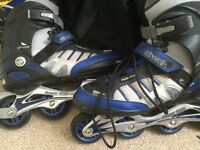 Inline Rollerblades size 8UK - used once