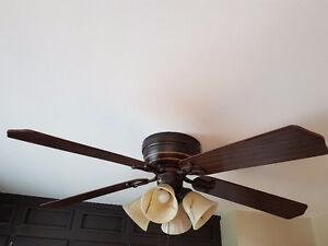 """Hampton Bay 52"""" Ceiling Fan - Sold"""