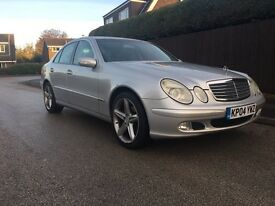 Mercedes Benz e200k auto with low mileage