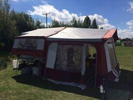 Pennine 4 berth folding camper