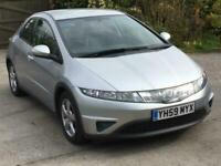 2009 Honda Civic 1.8 i-VTEC SE 5dr HATCHBACK Petrol Manual