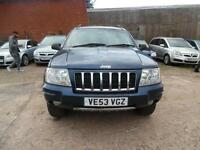 JEEP GRAND CHEROKEE CRD 2.7 DIESEL AUTO SPARES AND REPAIRS